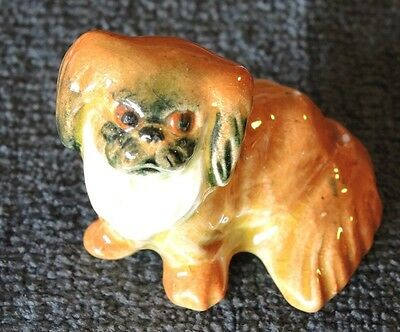 Darbyshire Pekinese Standing Dog Figurine With Sticker #9