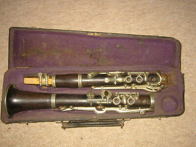 old wooden Bb?? Clarinet