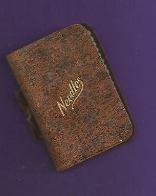 Vintage Leather Abel Morrall Needle Case