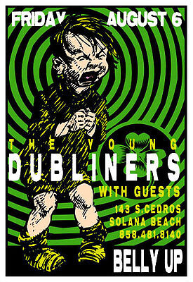 Scrojo Young Dubliners 2004 Poster Belly Up Tavern YoungDubliners_0408