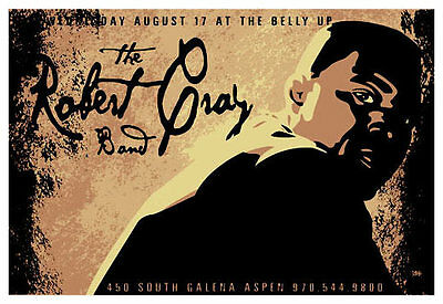 Scrojo The Robert Cray Band Belly Up Aspen Colorado 2005 Poster RbtCray_0508