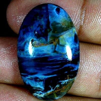 33.40Cts. 100% NATURAL MAGNIFICENT SPLENDENT  PIETERSITE OVAL CABOCHON GEMSTONES