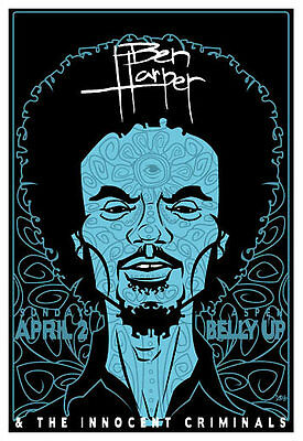 Scrojo Ben Harper and the Innocent Criminals Belly Up Aspen Poster Harper_0604