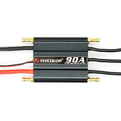 90A Electronic Speed Controller ESC Cooling Brushless Ship Model RC Boats