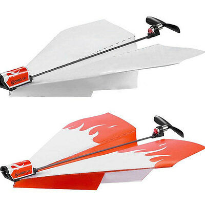 Kids Power Up Electric Paper Plane Airplane Conversion Kit Educational Toy Gift