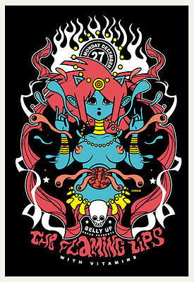 Scrojo Flaming Lips with Vitamins Belly Up Aspen 2010 Poster Flaming2_1012