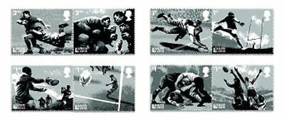 UK Rugby World Cup 2015 Stamp Set MNH 2015