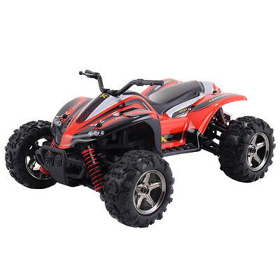1:24 2.4G 4WD High Speed RC ATV Buggy Off Road Car Radio Remote Control Truck