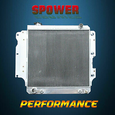 3-Row/CORE Aluminum Radiator For Jeep TJ Rubicon Sahara SE Wrangler L4 L6 87-06