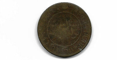 Netherlands East Indies 1897 2 1/2 Cents Coin