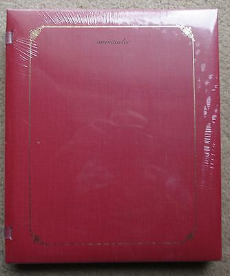 Creative Memories Brick 8x10 Open Backed Album Coverset BNIP WITH PAGES
