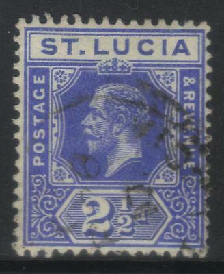 ST LUCIA 1912-1921 DEFINITIVES SG81b USED CAT £10