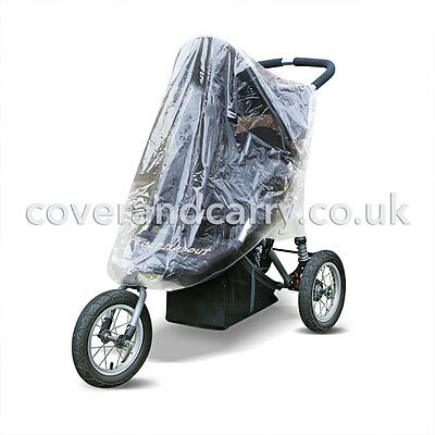 Raincover for a Out'n'About Nipper 360 single with free sun/insect net
