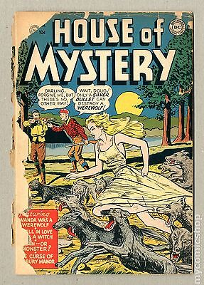 House of Mystery (1951-1983 1st Series) #1 PR 0.5