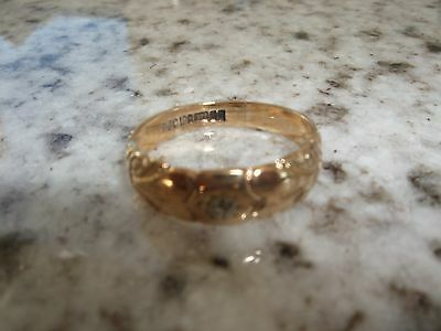 9ct GOLD RING SIZE P1/2