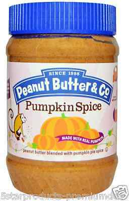 New Peanut Butter & Co. Smooth Operator Pumpkin Spice Gluten Free Daily Foods