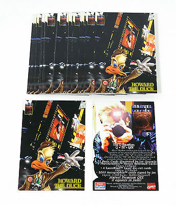 Lot of (20) 1997 Skybox Marvel Premium QFX Howard The Duck Promo Card Nm/Mt