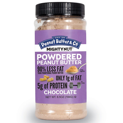 New Peanut Butter & Co. Mighty Nut Powdered Chocolate Protein Gluten Free Daily