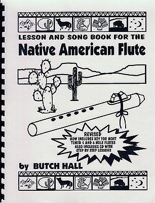 Lesson & Song Book for the Native American Flute w CD