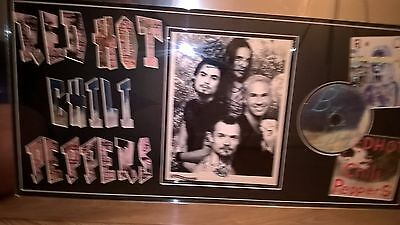 Red Hot Chilli Peppers signed display