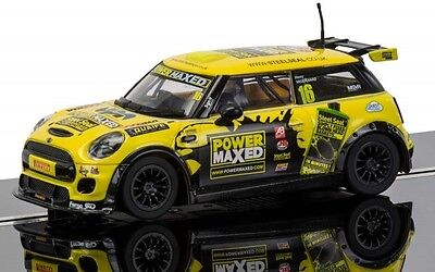 Scalextric 1:32 C3742 Bmw Mini Cooper F56 Mini Challenge 2015 Slot Car *new*