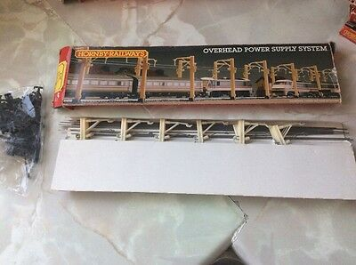 OO Gauge Boxed Single Track Hornby Overhead Power Supply System Set R.290