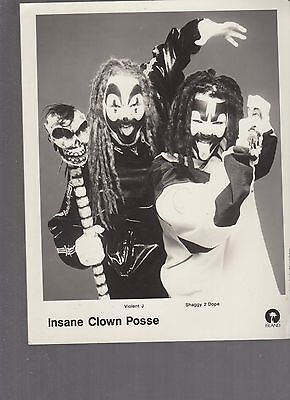 ICP THE Great   Milenko   8x10   not a reprint from 1997 tour  Island
