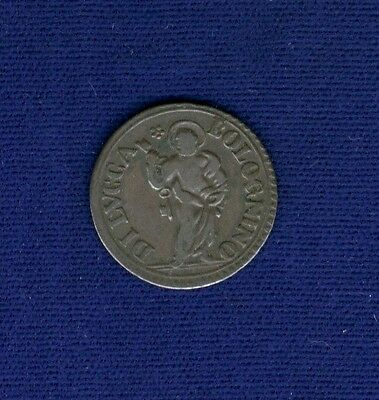"Italy / Italian States   Lucca   1790  ""bolognino"" Coin, Vf"