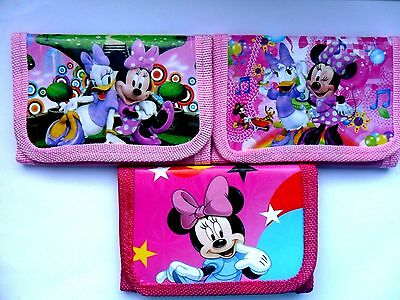 Stunning MINNIE MOUSE Wallet / Purse Three To Choose