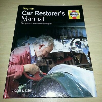 Haynes Car Restorer's manual FREE POSTAGE Immaculate condition MG Triumph Jaguar