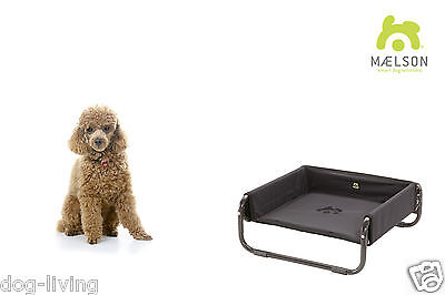 Maelson Soft Bed™ 56 (faltbare Hundeliege/Hundebett: small bis 15kg) anthrazit