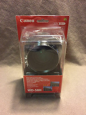 Canon WD-58H Wide Converter Lens