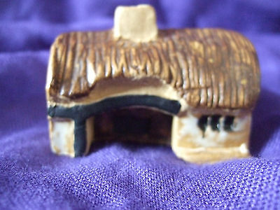 Mud Lark Pottery Miniature Cottage - British Collectable