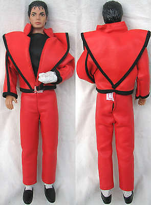 Michael Jackson Poupée Figure THRILLER Outfit Doll Puppe TOY 1984
