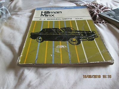Hillman Minx,Servicing for owner-drivers, by C.J. Beddall-Smith (CLASSIC Car)