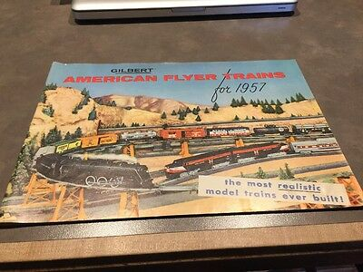 Gilbert American Flyer Trains For 1957