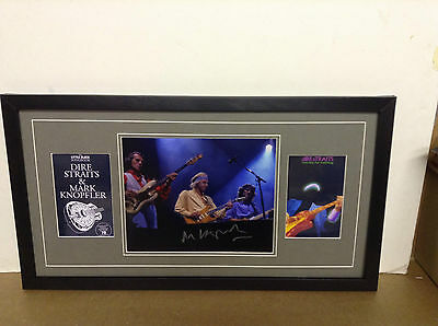 Dire Straits Genuine Hand Signed/Autographed Photograph with COA