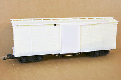 BACHMANN SPECTRUM UNPAINTED BOXCAR WAGON Compatible with LGB ni
