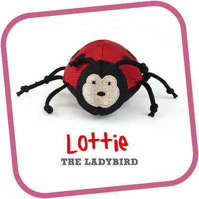 Beco Pets Cat Wand Toy Lottie the Ladybird - Brand New with Tags