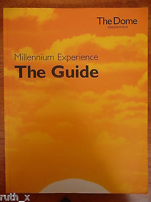 The MILLENNIUM DOME Experience Visitor Guide Book Exhibition Brochure London UK