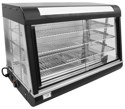 """NEW 36"""" Food Warmer Display Case Uniworld UDW-2 4554 Heated Commercial Table Top"""