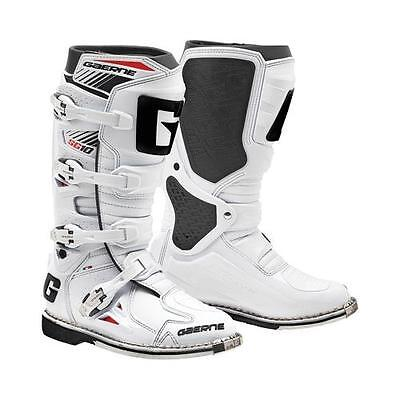 Gaerne SG-10 SG10 White Men's Size 12 MX Off Road Boots 2190-004-012
