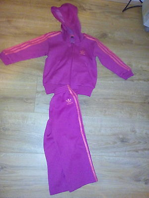girls adidas tracksuit 2years old