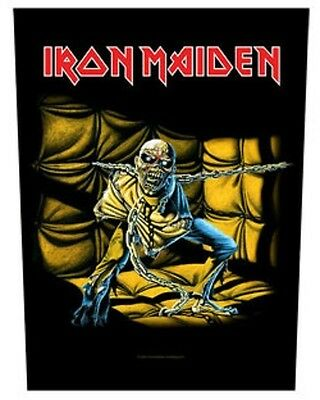 IRON MAIDEN BACK PATCH New Official PIECE OF MIND