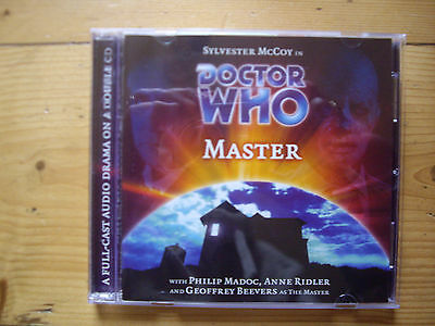 Doctor Who Master, 2003 Big Finish audio book CD *RARE*