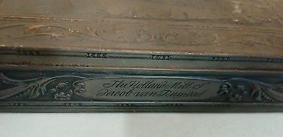 Holland Mill of Jacob Van Ruysdad Biscuit Tin - old, antique, collectable