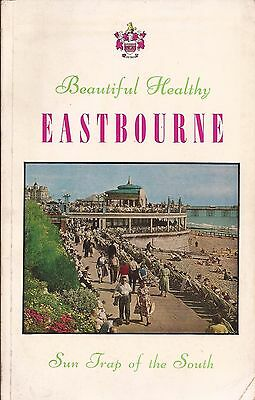 Beautiful Healthy Eastbourne Vintage Official Guide Book 1958.