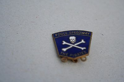 The Pirates Poole Speedway Badge