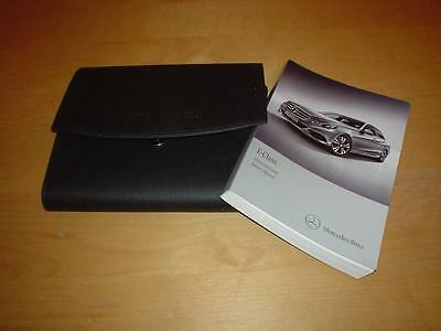 MERCEDES W212 E CLASS 180 200 220 250 300 350 500 CDI AMG Owners Handbook Manual