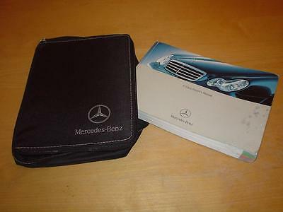 MERCEDES W203 C CLASS 180 200 220 240 270 320 30 CDI Owners Handbook Manual Book